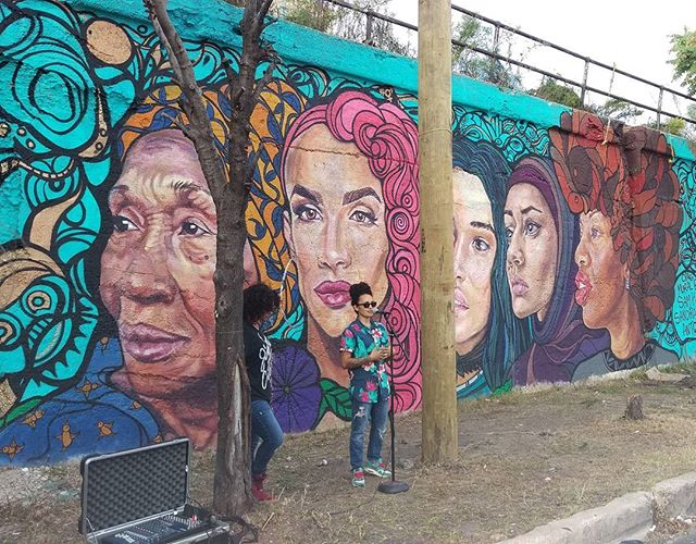 Another great addition to the 16th Street mural wall! Congratulations to the the artists #samkirk #sandraantongiorgi and to the local residents!