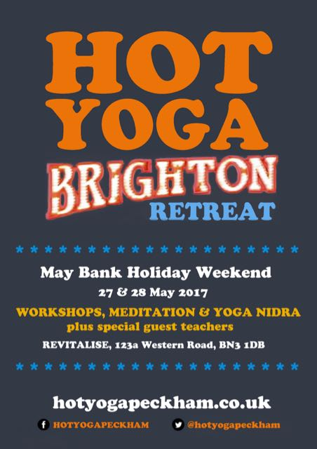 HOT YOGA BRIGHTON Retreat Revitalise