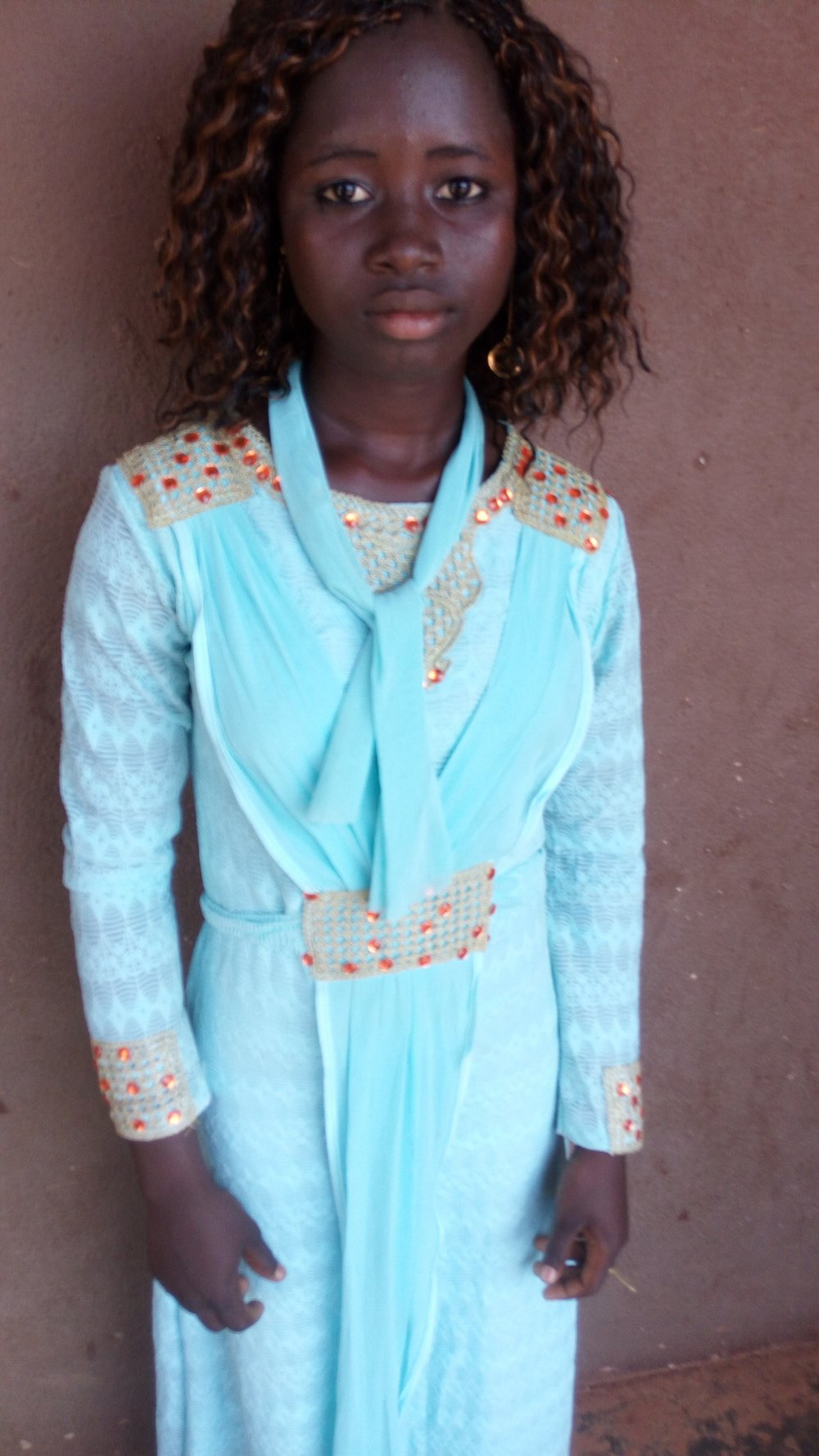 Mariam is off to nursing school thanks to Mali Rising's generous donors.