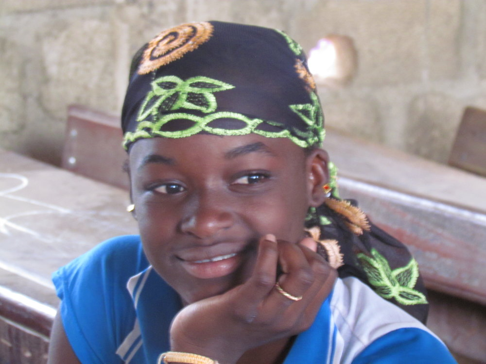 This is Kadia of Sebela, Mali. She dreams of being a midwife to help the women of her village and their babies.