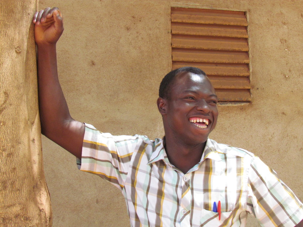 Abdou, a proud graduate of Mali Rising's Sue Chung Chiu Middle School and current university student.
