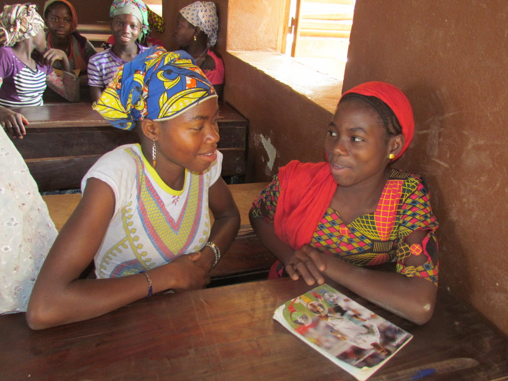 Girls share their thoughts on solutions to problems they face like early marriage.