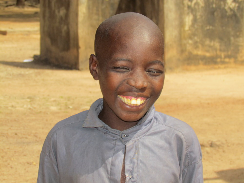 That feeling you get when you realize you won't have to drop out of school after 6th grade because your village is getting a new middle school!