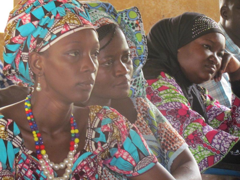 Among Mali Rising's female teachers, Fatoumata Togo, Alimatou Berthé and Djeneba Niama Coulibaly are women professors who have shown particular dynamism.