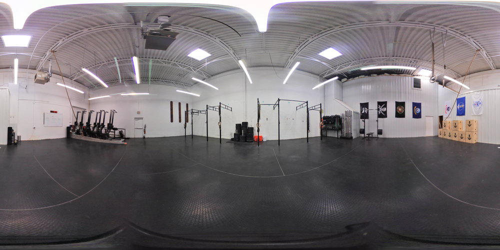 2,500ft2 training floor - fully equipped
