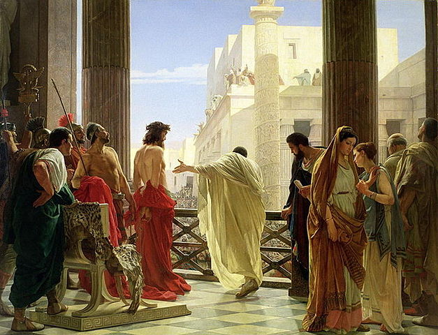 By Antonio Ciseri - http://www.most-famous-paintings.org/Ecce-Homo-large.html, Public Domain, https://commons.wikimedia.org/w/index.php?curid=10356430