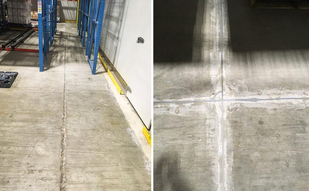 Before & After - Polyurethane Flexible Sealer