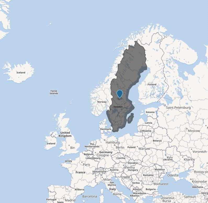 Sweden. I'm like, 99% sure.