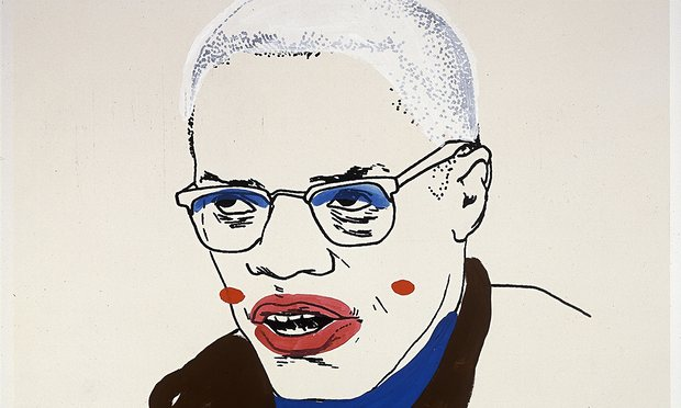 """"""" Glenn Ligon's """"Malcolm X # """""""