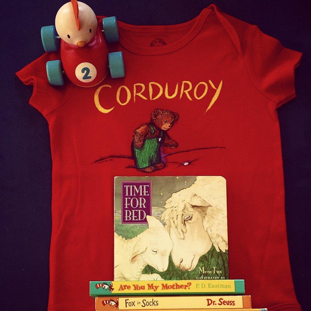 Corduroy Onesie