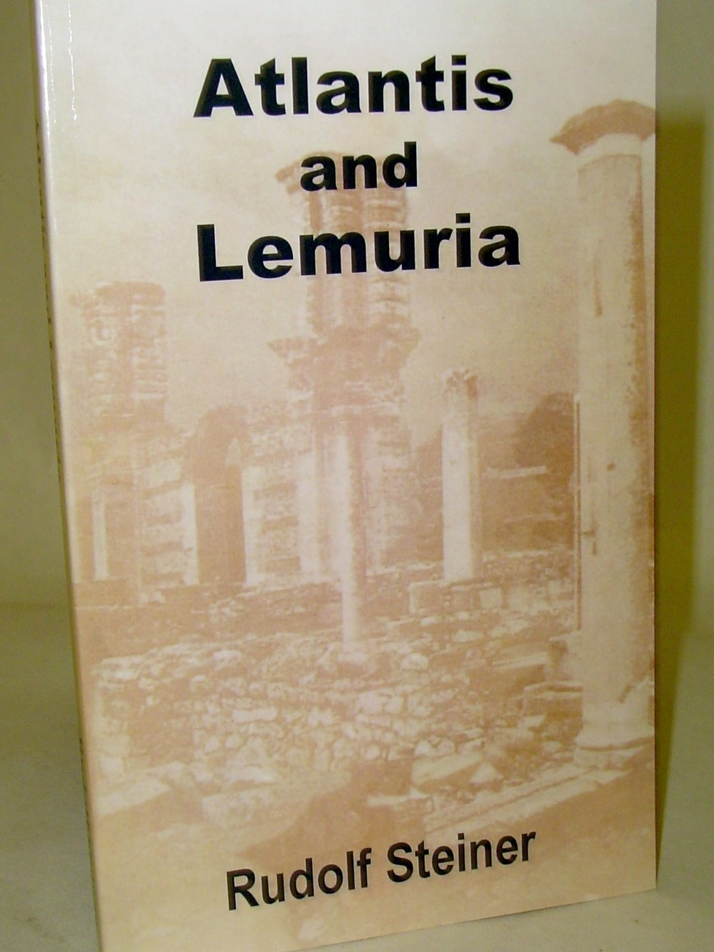 Atlantis & Lemuria  By Rudolf Steiner  $20  Plato and many others have written of the continent of Atlantis that lay between Europe and America. Rather than try to prove that Atlantis exists, which many other writers have done before, Rudolf explores the spiritual condition and inner nature of those who may have lived there.   Read More on eBay