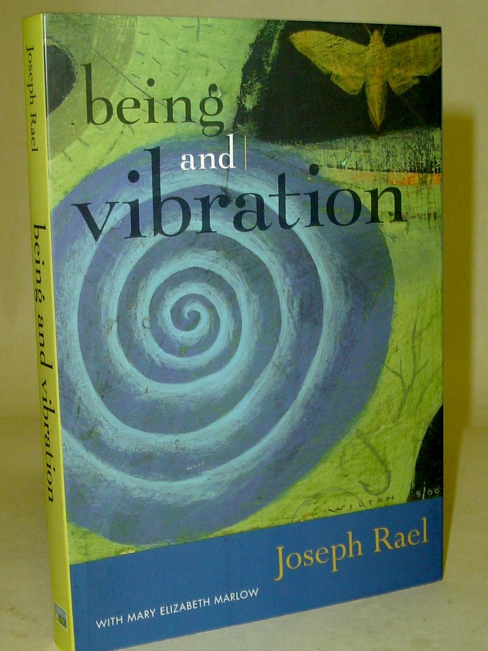 Being and Vibration  By Joseph Rael  $21  Rael encourages us to wake up from our field of limitations and enter a new world of possibilities by listening the inner vibrations in ourselves and our universe. This book also includes 33 new works of art by Rael.   Read More on eBay