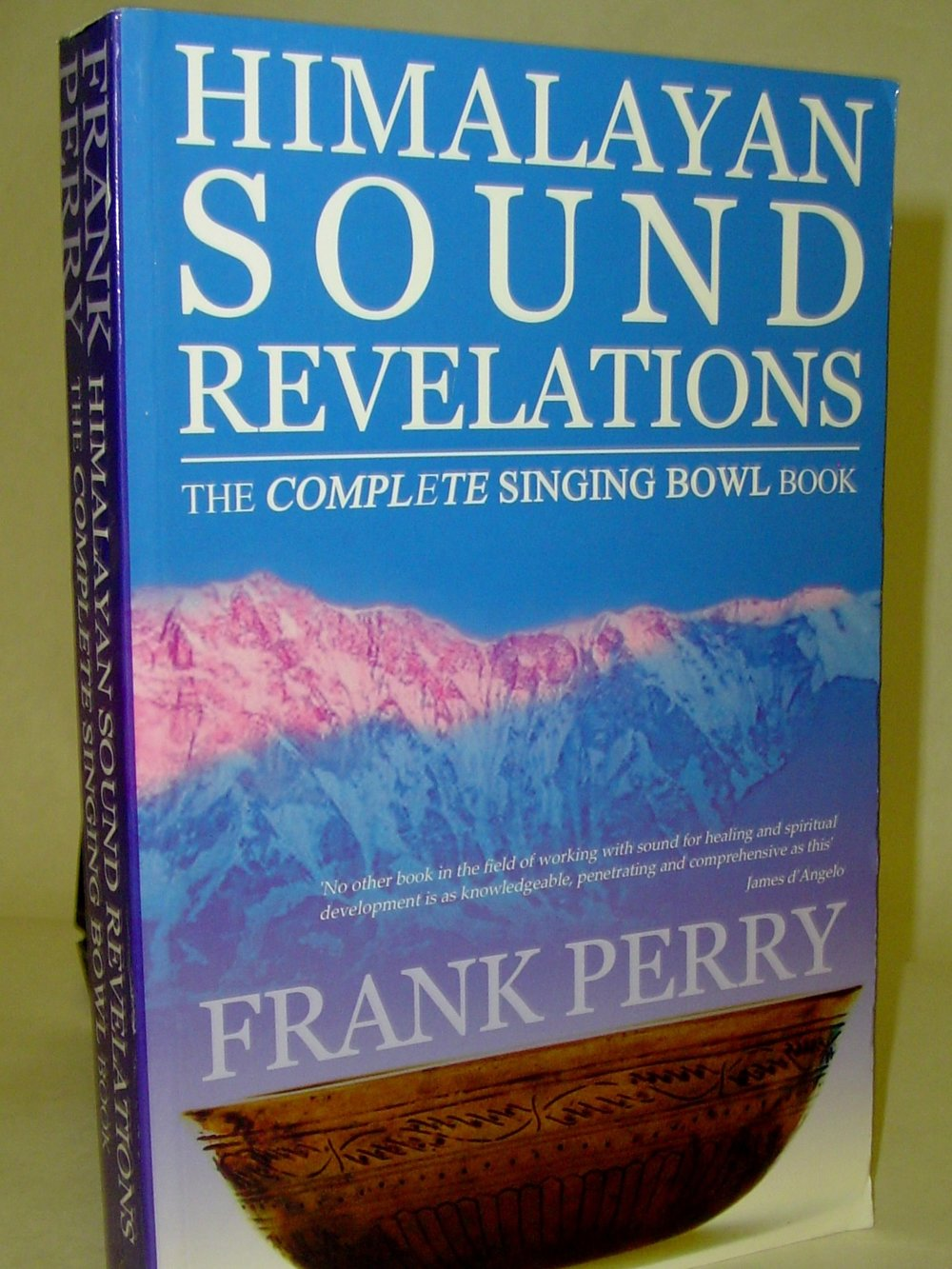 Himalayan Sound Revelations: The Complete Singing Bowl Book  By Frank Perry  $45  This book includes not just information on Tibetan bowls and how to play them, but information on Chinese bells, drilbu and ding-sha. Also included is the symbolism and astrology of the bowls and their relation to western music.   Read more on eBay