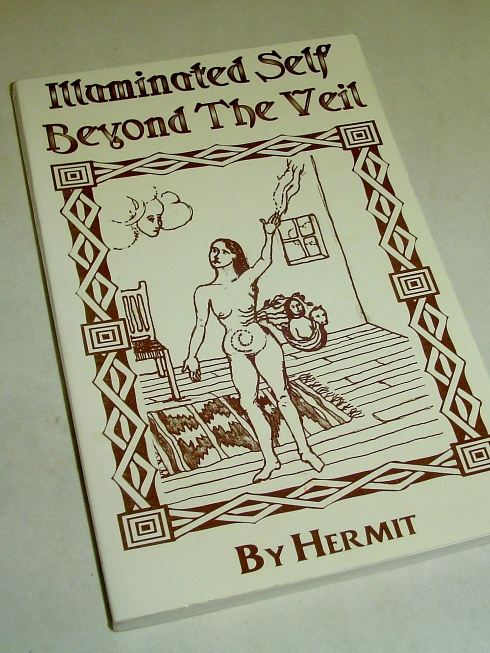 Illuminated Self Beyond the Veil  By Hermit  $150  Hermit, a Cherokee descendant trained by his grandfather from birth in the ancient path of Shamanism, has been in seclusion for over 20 years. He has chosen to return to a more public path in order to share his knowledge and experience.   Read more on eBay