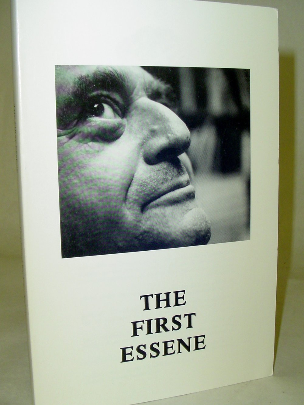The First Essene  By Edmond Bordeaux Szekely  $30  These are lectures of ancient religions and philosophies given by the author over the course of 6 days at The International Seminar of the Essene Way and Biogenic Living.    Read More on eBay