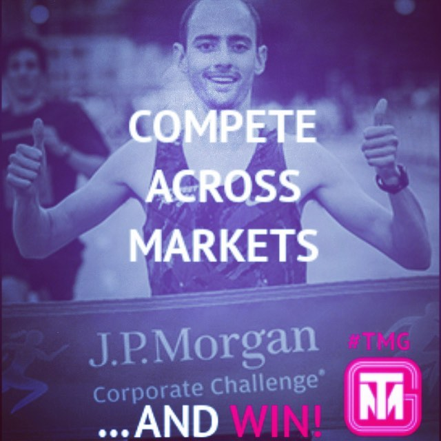 Congratulations to our own Brandon Mull for winning the J.P Morgan Chase Corporate Challenge for the second year in a row! #TMG #corporatechallenge
