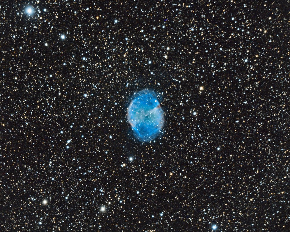 The Dumbbell Nebula - Messier 27 - NGC 6853