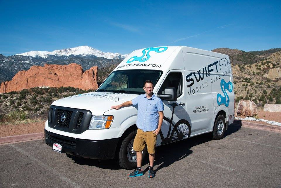 Gregory Smith - Owner of Swift Fix Mobile Bike Shope