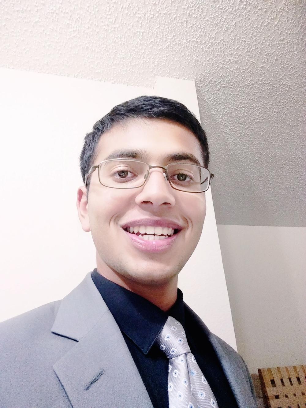 Rishabh Thakkar  Senior at Plano East Senior High School