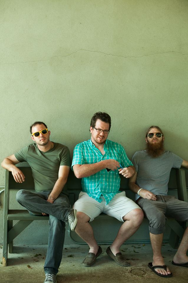 Brad Stair, Vince Fabra and James Isenhower. photography by Daniel Meigs .
