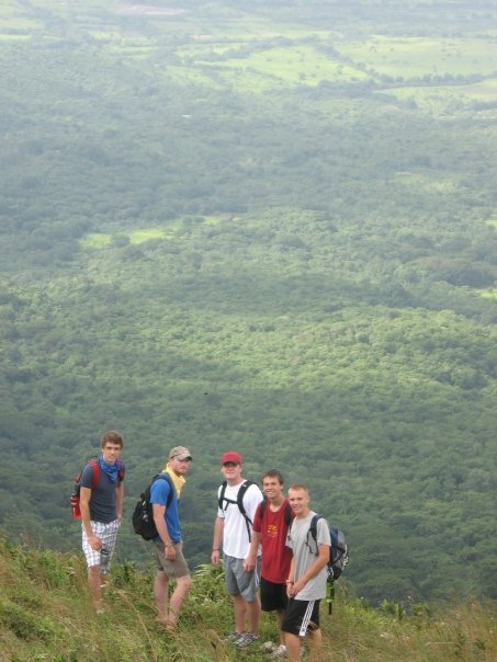 David on a month long Nicaragua mission trip in 2008.