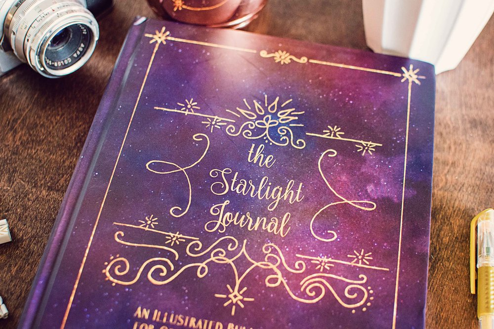 starlight illustrated bullet journal sketchbook 7