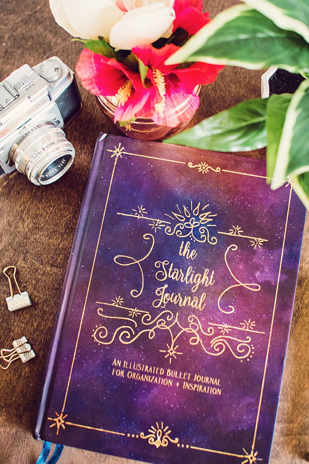 illustrated art bullet journal starlight boho