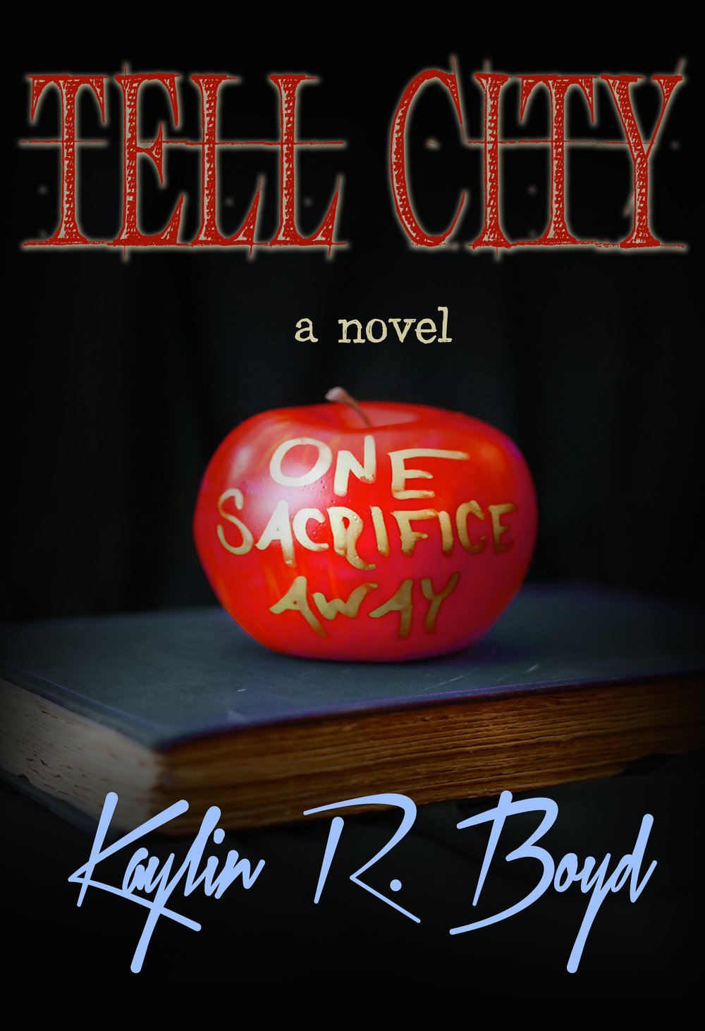 The first ever  Tell City  cover design.