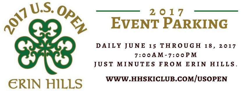 HH Ski Club - Erin hills us open map