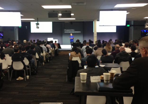 Marti presenting at DevCon2