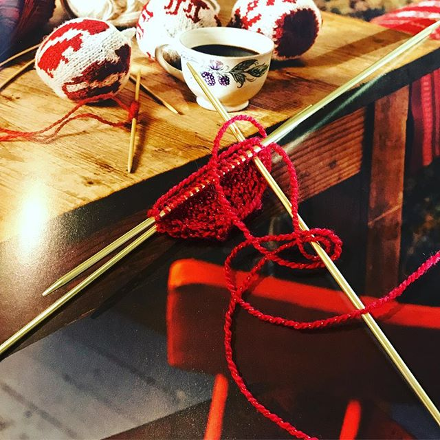 Knitting Arne & Carlos Christmas Balls. Teaching a Knit Together on these beauties 11/27.