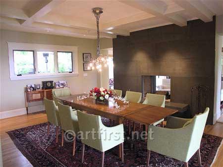Contemporary Craftsman remodel Interior Colors