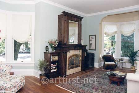 Historic colors and interior design