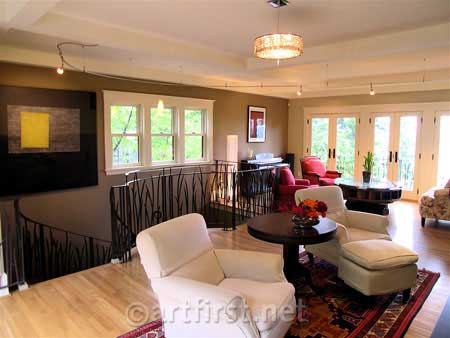 Colors for Contemporary Craftsman addition
