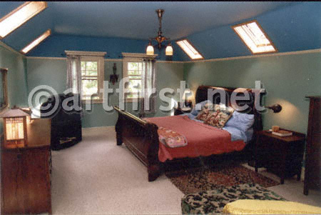 Relaxing Bedroom colors by Art First Colors