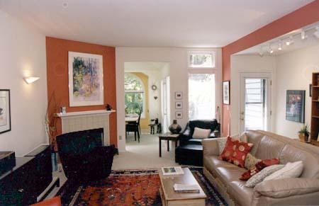 Accent wall colors for Condominium