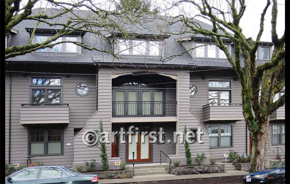 Irvington Rowhouses, Portland Oregon