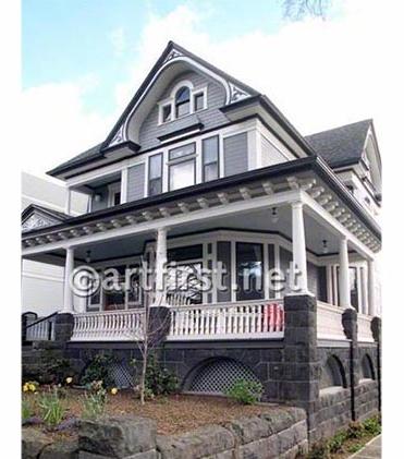1896 Victorian beautifullyrestored exterior paint colors