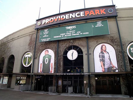 Providence Park, home of the Timbers
