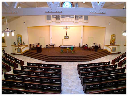 ... Church Interior Design ...
