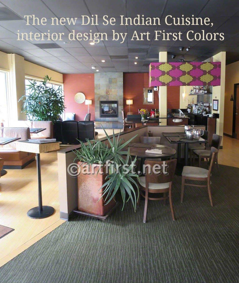 Interior Design for Indian Restaurant