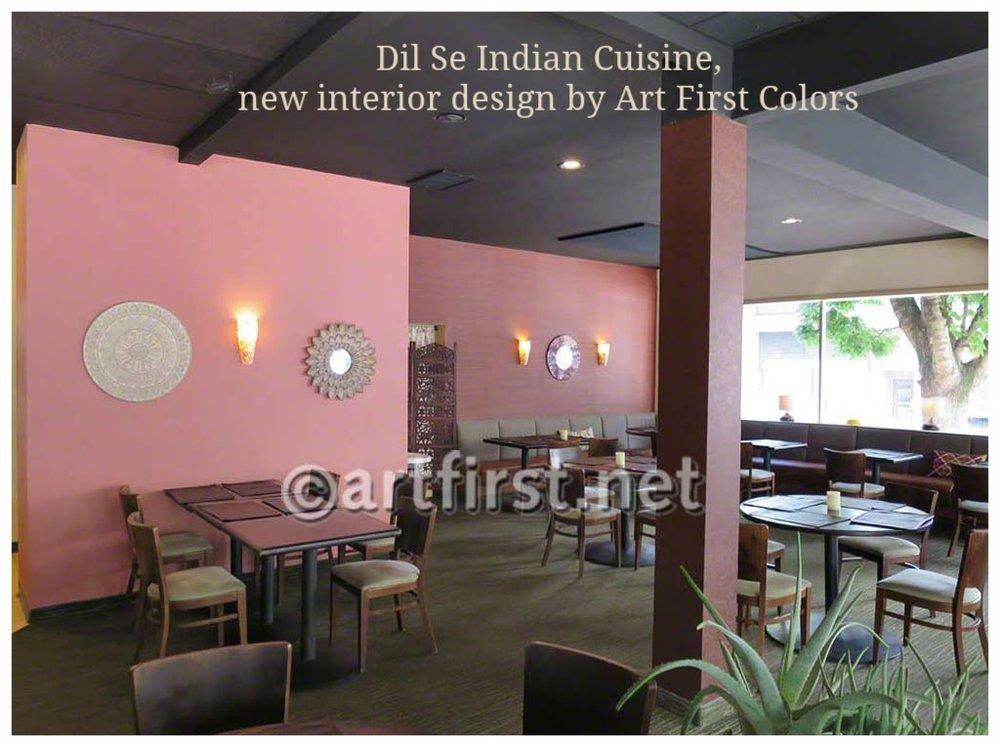 Interior Design for restaurant