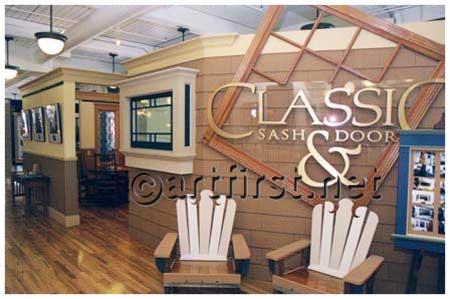 Commercial paint colors for Classic Sash & Door