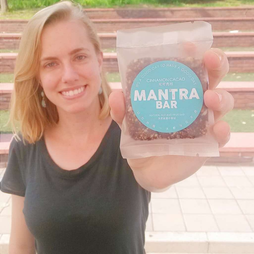 marta  culinary creator of mantra bars
