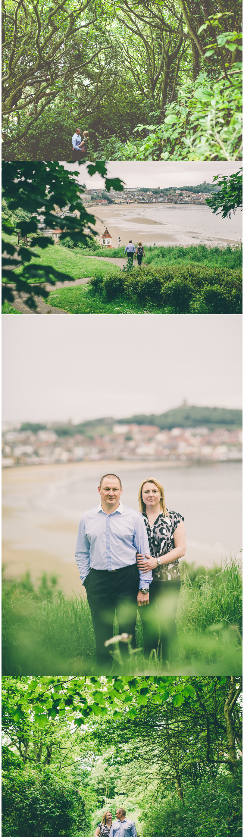 Scarborough York Yorkshire Wedding Photographer Yorkshire Engagement Pre Wedding Shoot Esplanade South Cliff Scarborough
