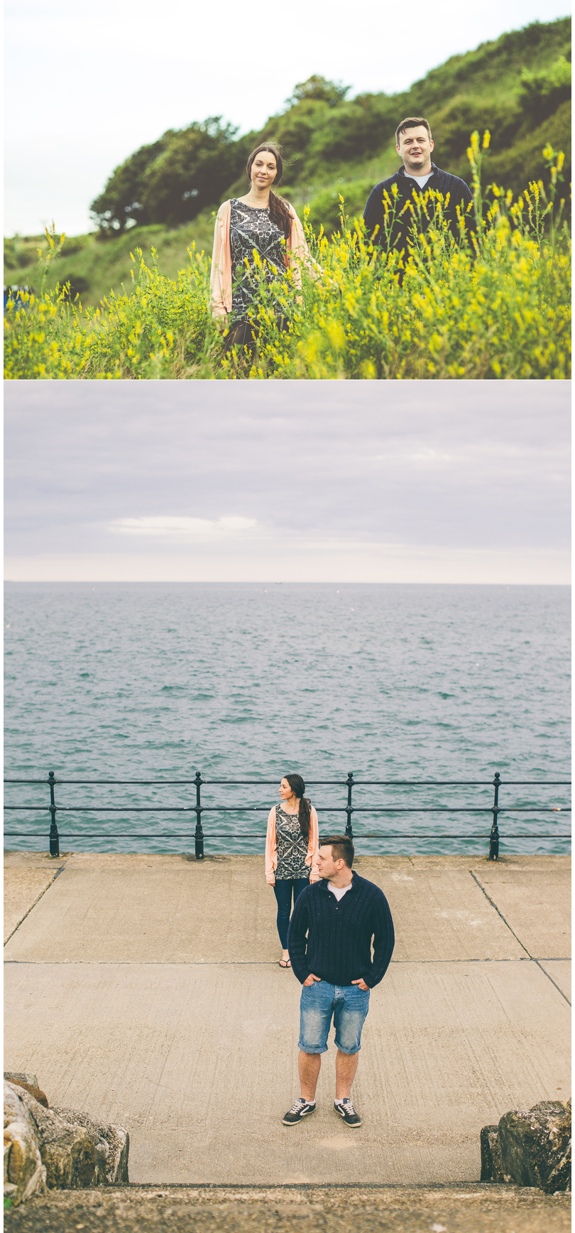 Scarborough York Yorkshire Wedding Photographer Yorkshire Engagement Pre Wedding Shoot North Bay Scarborough Yorkshire
