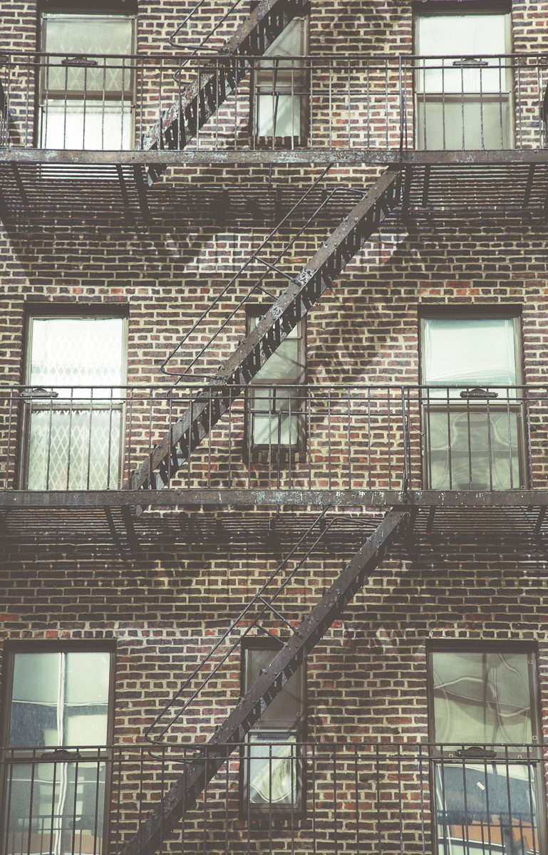 New York City Fire Escape Neil Jackson Yorkshire Photographer