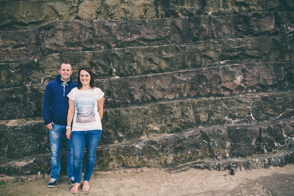 North Bay Engagement Shoot by Scarborough based Yorkshire wedding photographer