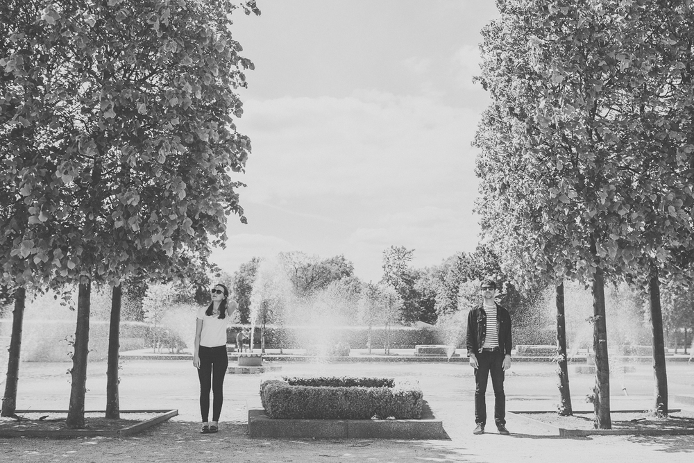 Battersea Park Engagement Shoot by Scarborough based Yorkshire wedding photographer