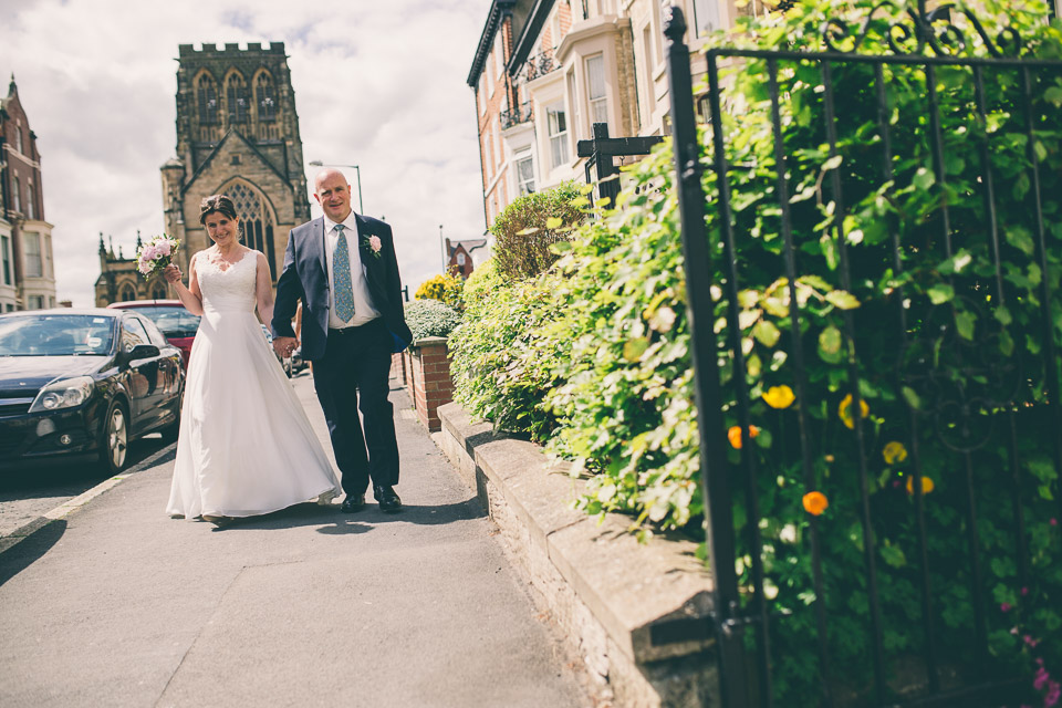 Scarborough and Yorkshire Wedding Photography at The White Swan Pickering & North York Moor Railway in Whitby Grosmont